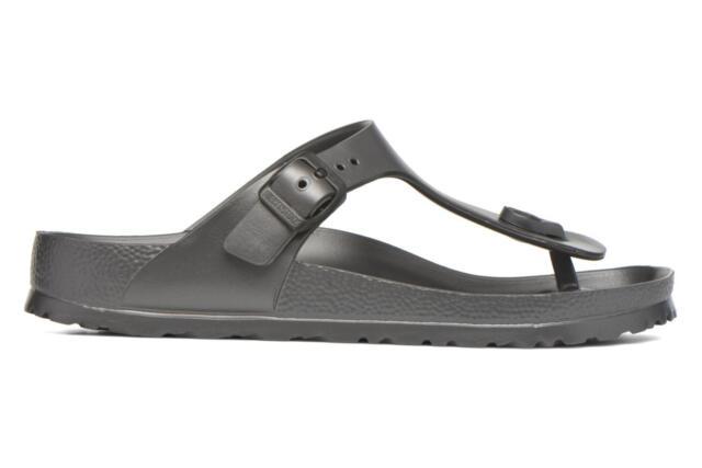 Grigio 39 BirkenstockGizeh EVA Sandali Unisex Adulto Grey Metallic dlc