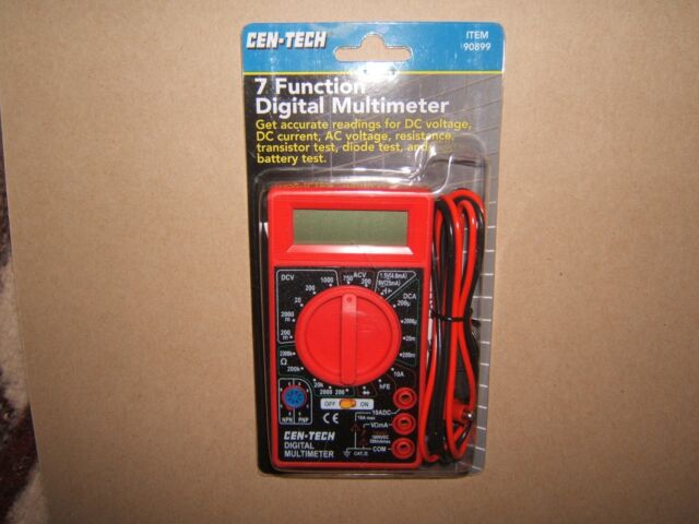 cen tech digital multimeter 69096 manual