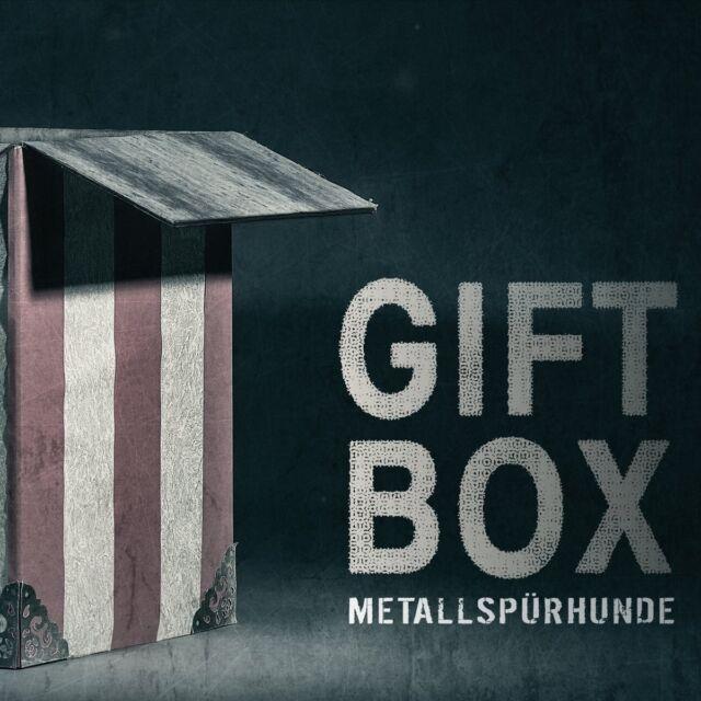 METALLSPÜRHUNDE Giftbox CD Digipack 2017