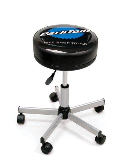 Park Tool Rolling Adjustable Height Shop Stool Ebay
