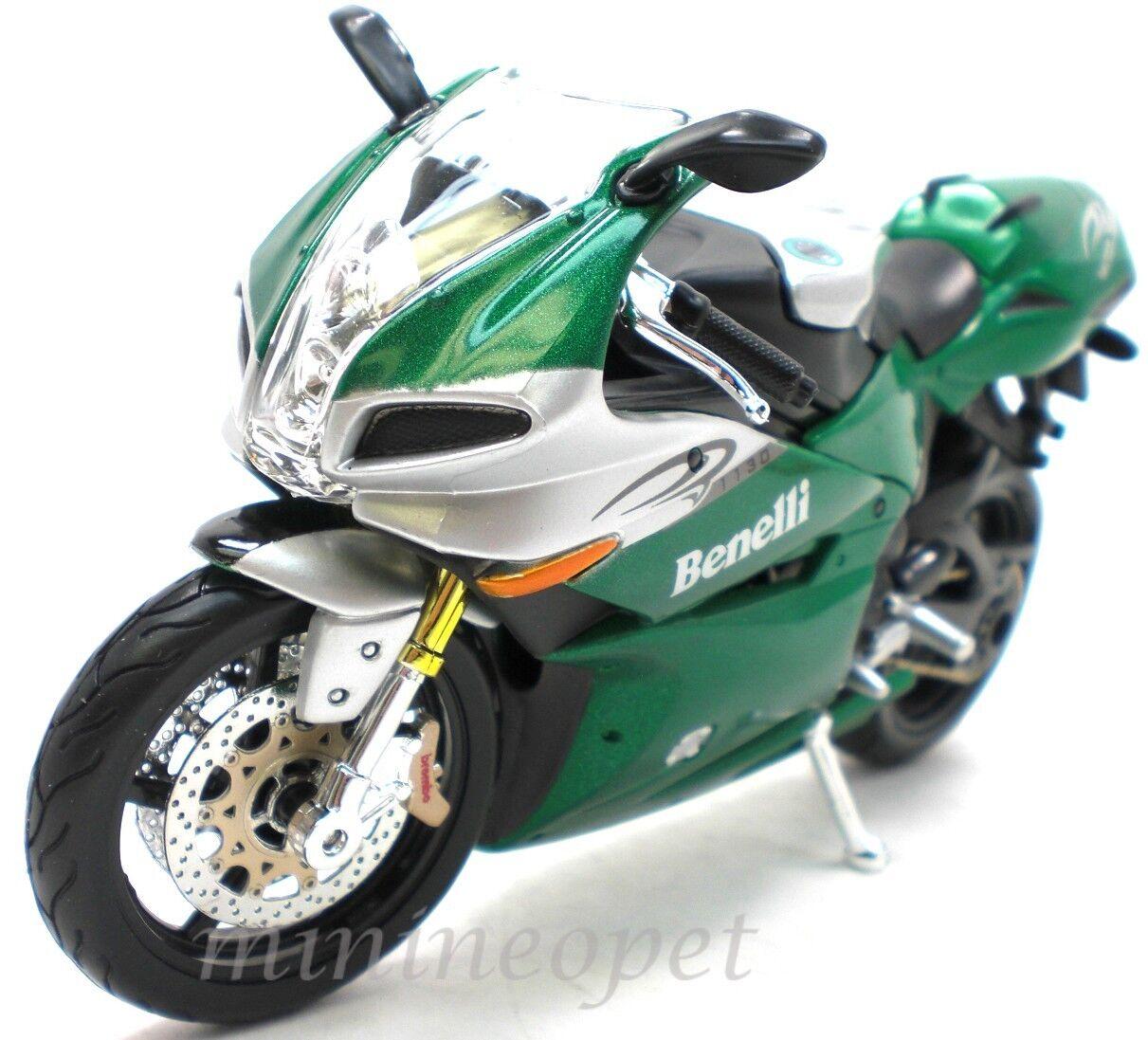 Maisto 31156 Benelli Tornado Tre 1130 Bike 1 12 Green Ebay