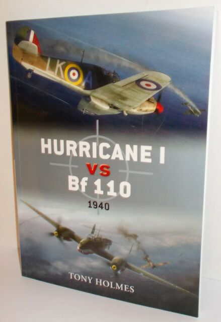 Osprey - Duel 29 - Hurricane I vs Bf110,1940 - 80 Pages - (Book)