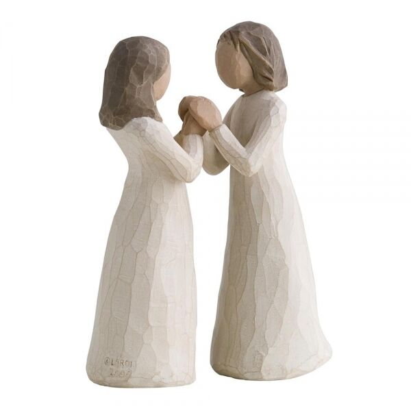 Willow Tree Figur / Beste Freundinnen / SISTERS BY HEART / 13 cm