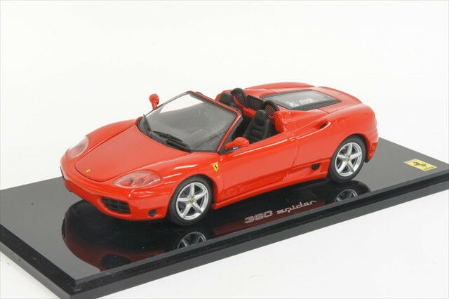 Kyosho 1/43 05032R Ferrari 360 Spider Red MIB cast Car | eBay