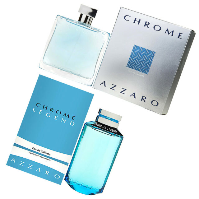 AZZARO CHROME LEGEND EDT EAU DE TOILETTE 100 ml 125 ml