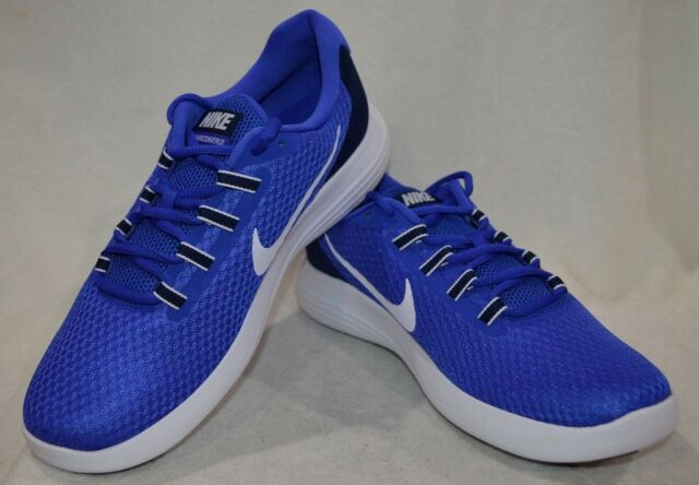Nike Lunarconverge Paramount Blue/White Men's Running Shoes-Assorted Sizes NWB
