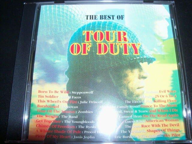 Tour Of Duty The Best Of Soundtrack CD Ft Steppenwolf Canned Heat Santana Small