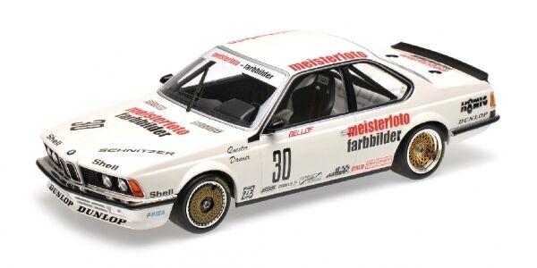 BMW 635 Csi Schnitzer Eterna Bellof Danner Etcc 1983 1:18 Model MINICHAMPS