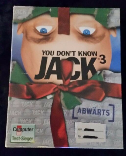 You Don't Know Jack 3 - Abwärts (PC, 1999 Geschenk BOX)