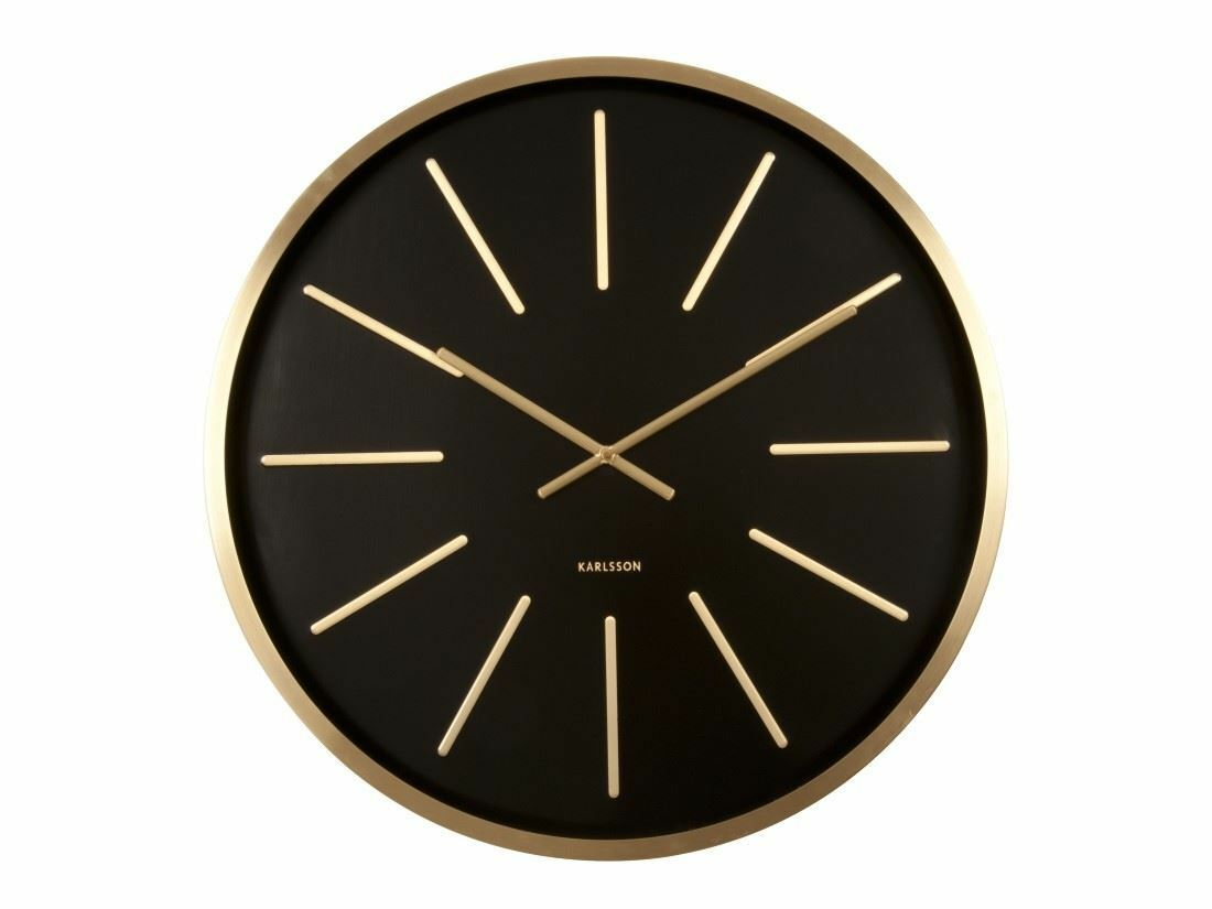 Karlsson clock ebay karlsson maxiemus brass large living room wall clock modern design style amipublicfo Image collections