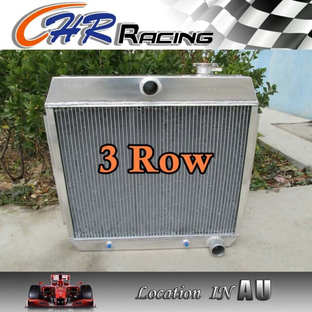 3 ROW for 1955 1956 1957 ALUMINUM RADIATOR CHEVY BEL AIR V8 W/COOLER 55 56 57