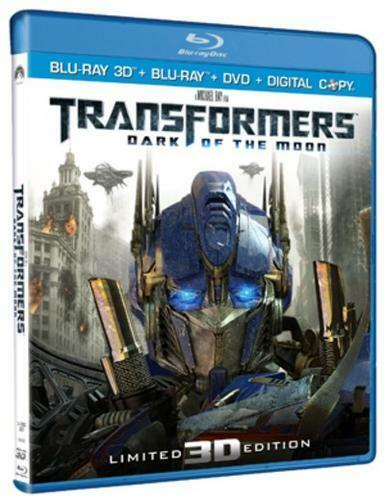 Transformers: Dark of the Moon (3D Edition + 2D Edition + DVD + Digital Copy)
