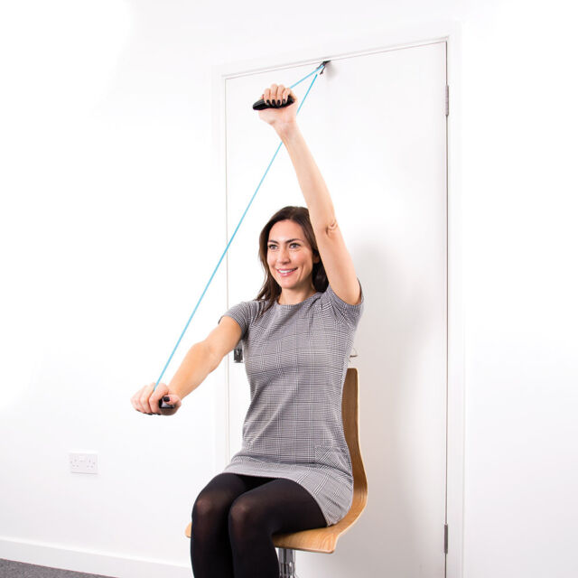 66fit Shoulder Exercise Pulley - Frozen Shoulders Physiotherapy Rehabilitation