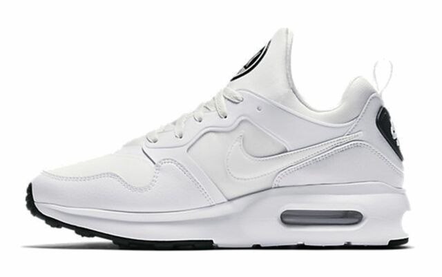 NUOVO Nike Air Max Prime Sneaker Scarpe da Corsa Sportivo bianco 876068 100 WOW