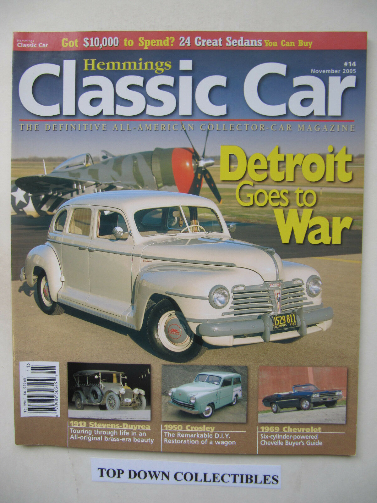 Hemmings Classic Car Magazine Nov. 2005 1950 Crosley Wagon ...
