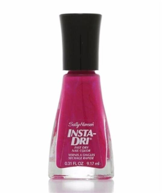 Sally Hansen Insta-dri Nail Polish Color 220 FLASHY Fuchsia | eBay
