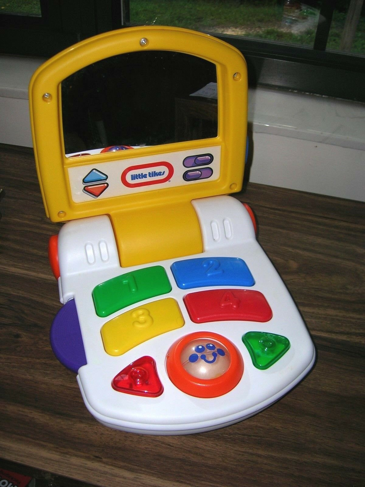 RARE Vintage Little Tikes Baby Toddler puter Laptop Light up