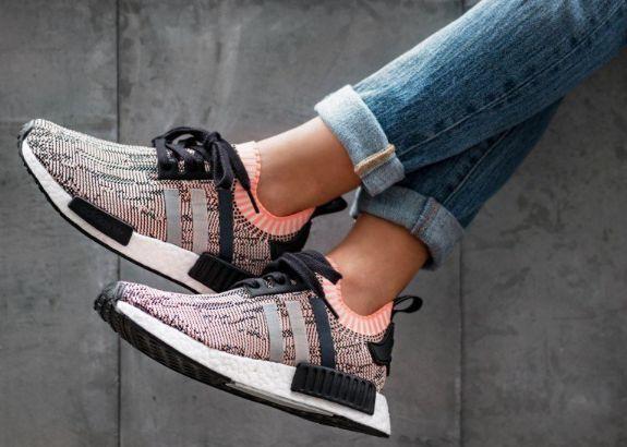 adidas nmd r1 primeknit women adidas originals nmd_r1 primeknit shoes