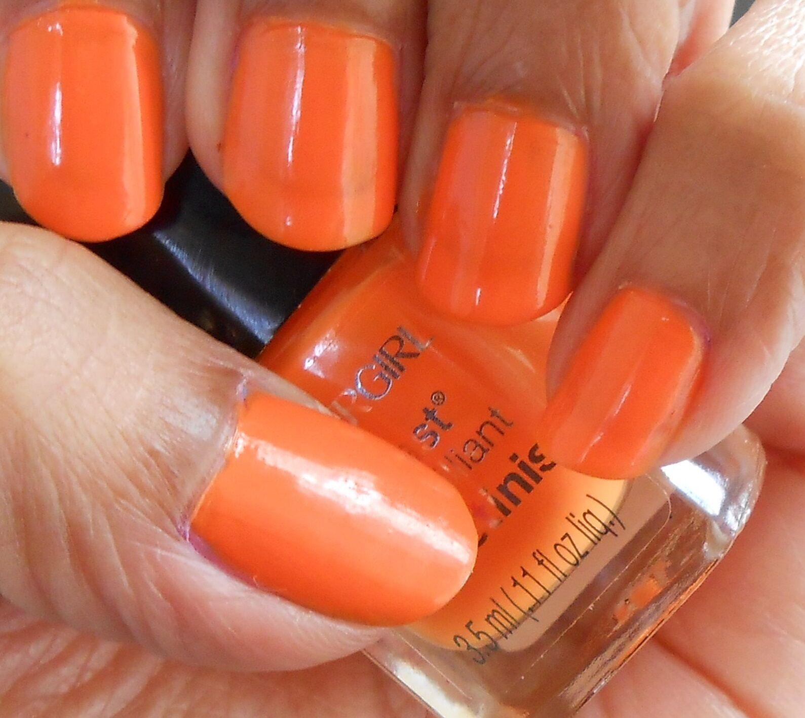 Cover Girl Outlast Stay Brilliant Nail Polish Gloss Color 245 Go-go ...