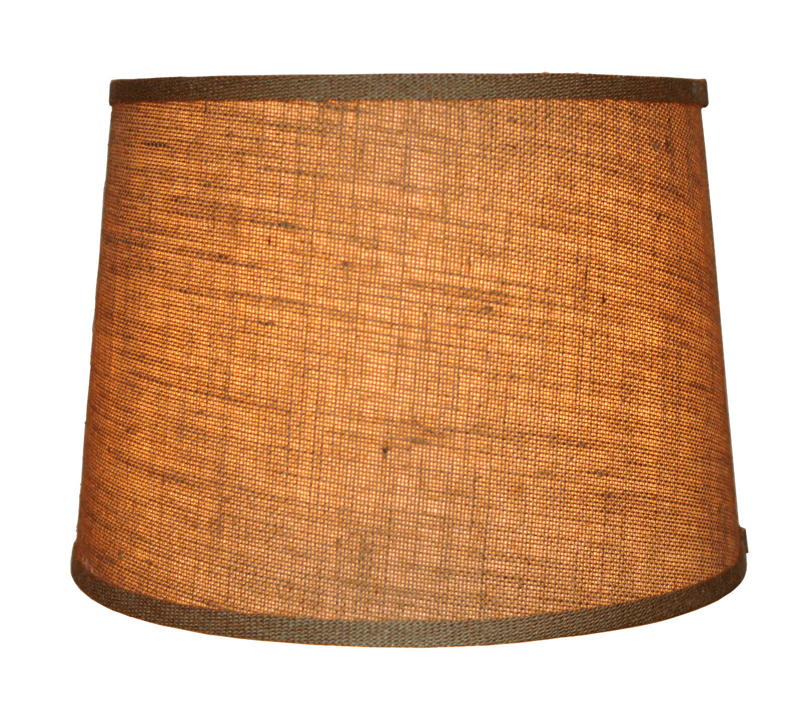 Urbanest burlap french drum style lamp shade 10x12x85 lampshade brand new lowest price mozeypictures Choice Image