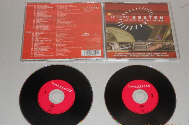 2 CD ZDF Unsere besten Jahrhundert Hits 41 Tracks 2005 Freddy Quinn Karat... 151
