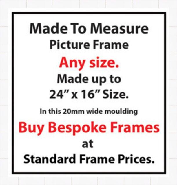 Made to Measure Online Picture Frames Artwork Framing | 20mm Wide ...