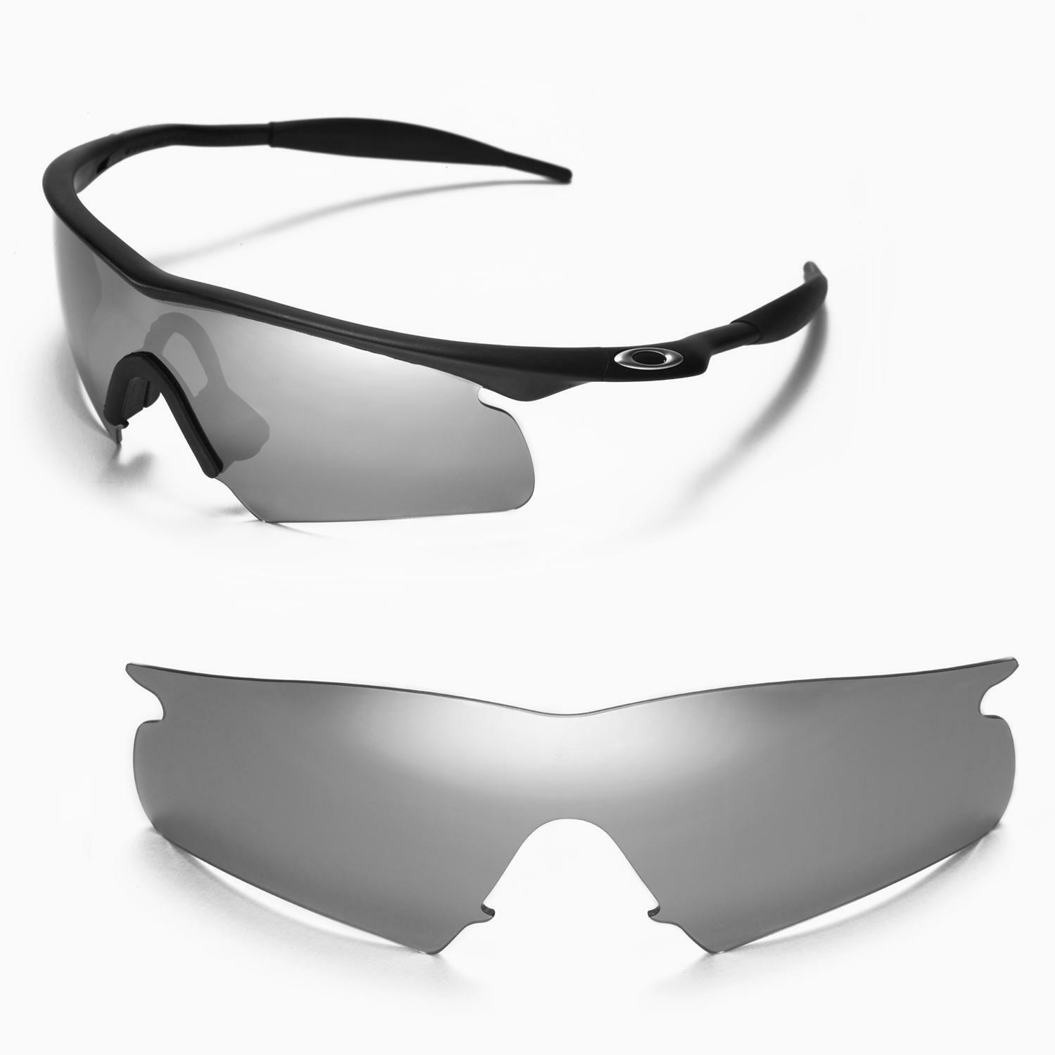 Walleva Titanium Replacement Lenses for Oakley M Frame Hybrid ...