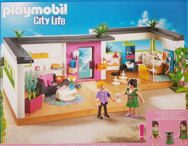 PLAYMOBIL 5586 City Life Gästebungalow Neu/ovp   eBay