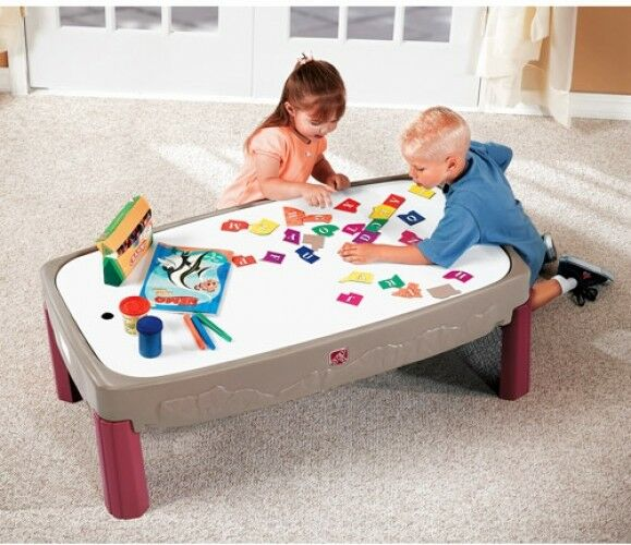 Kids Play Table Train Track Set Toddler Step 2 Activity Storage 3 to 4 Years & Kids Play Table Train Track Set Toddler Step 2 Activity Storage 3 to ...
