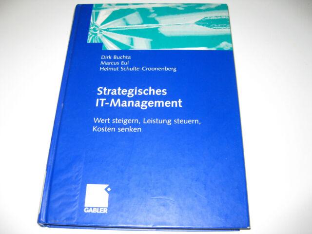 Buchta Eul : Strategisches IT - Management
