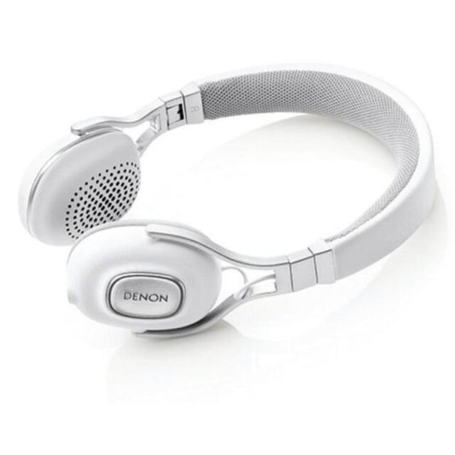 Denon AH-MM200 Music Maniac Portable On Ear Headphones - White