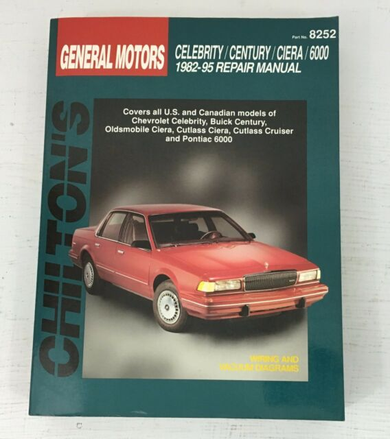 1995 cutlass ciera manual oldsmobile cutlass supreme models array chiltons 28360 repair manual 1982 96 celebrity century ciera 6000 ebay rh ebay com fandeluxe Choice Image