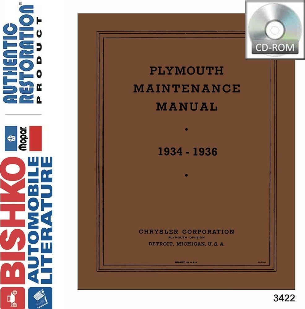 1934 1935 1936 Plymouth Service Repair Shop Manual Dvd Ebay Volkswagen Beetle Engine Diagram Norton Secured Powered By Verisign