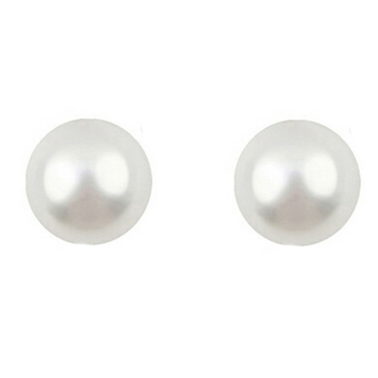 pin swarovski silver earrings white pearl gold with stud sterling