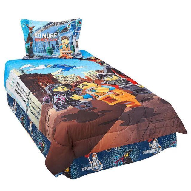 LEGO Movie 3-piece Twin Comforter Set - Frenzy   eBay