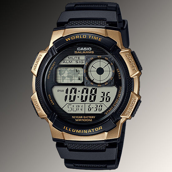 Casio ae 1000w 1a3 digital map watch 10 year battery world time 5 resntentobalflowflowcomponenttechnicalissues gumiabroncs Gallery