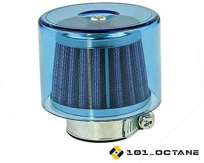 Derbi Senda 50cc (00-05)  38mm Free Flow Air Filter Blue
