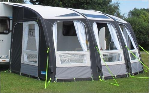 Kampa Ace AIR 400 PRO Inflatable Caravan Porch Awning