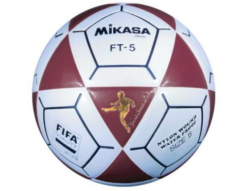 3f47abedb Mikasa FT5 Series Goal Master Soccer Ball - Size 5, Red and White