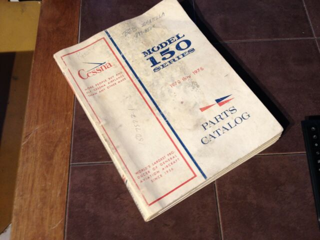 1959 1968 cessna 150 parts manual ebay rh ebay com Flying Cessna 150 Polished Cessna 150