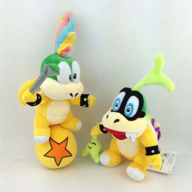 Avatar 2 Toys Ebay: Super Mario Bros Koopalings Iggy Lemmy Koopa Ball Plush