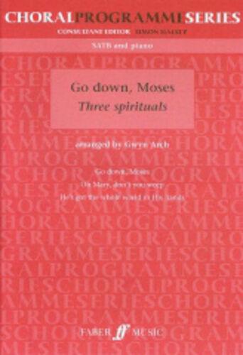 Go down, Moses SATB acc (CPS) Arch, Gwyn (arranger)