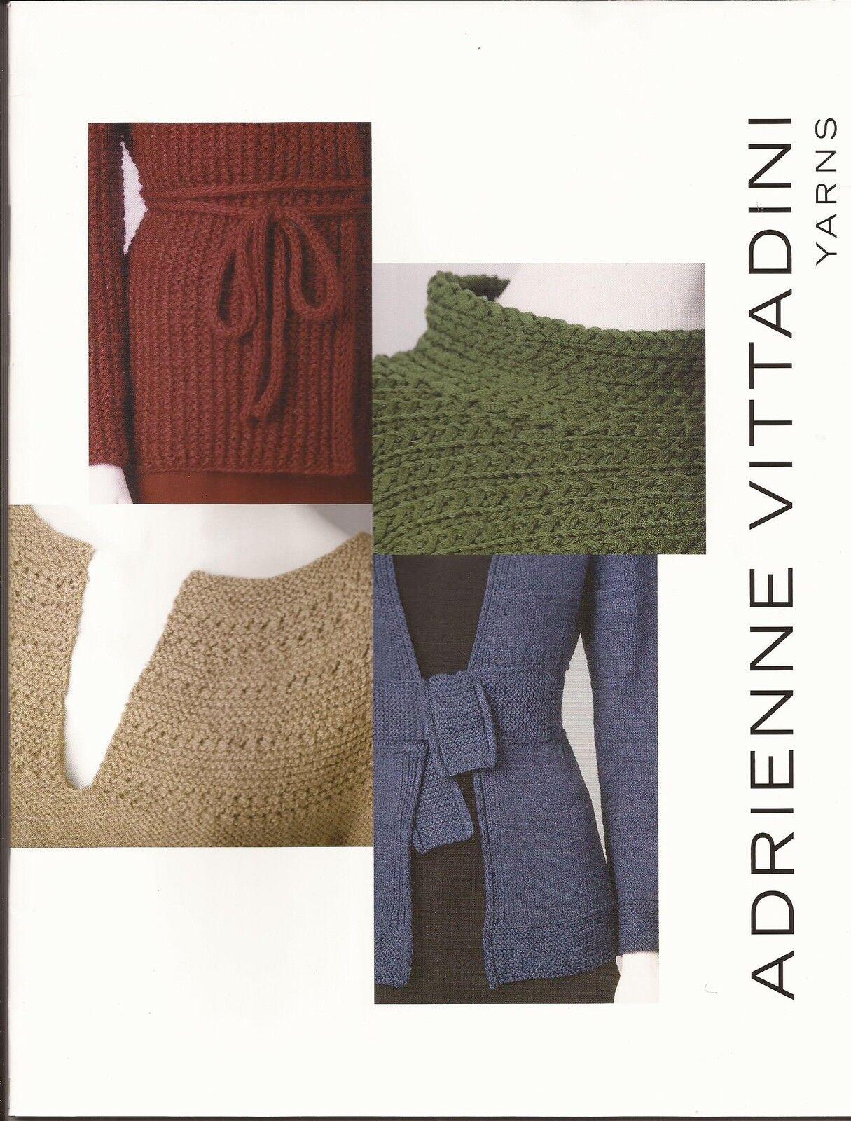 Adrienne Vittadini Knitting Pattern Book Vol 17 Women\'s Designs | eBay