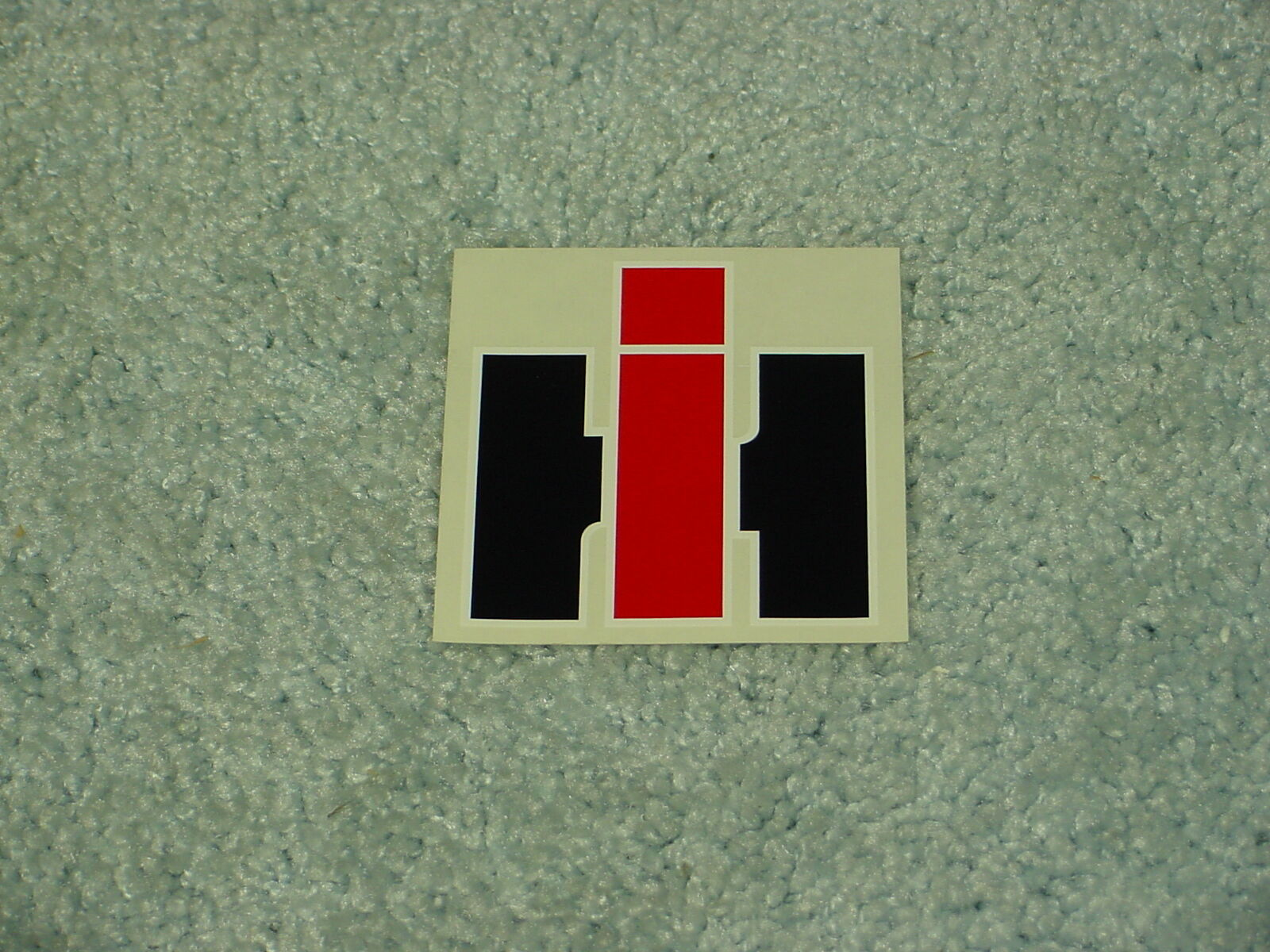 Ih International Harvester Tractor Logo Decal Sticker Ebay