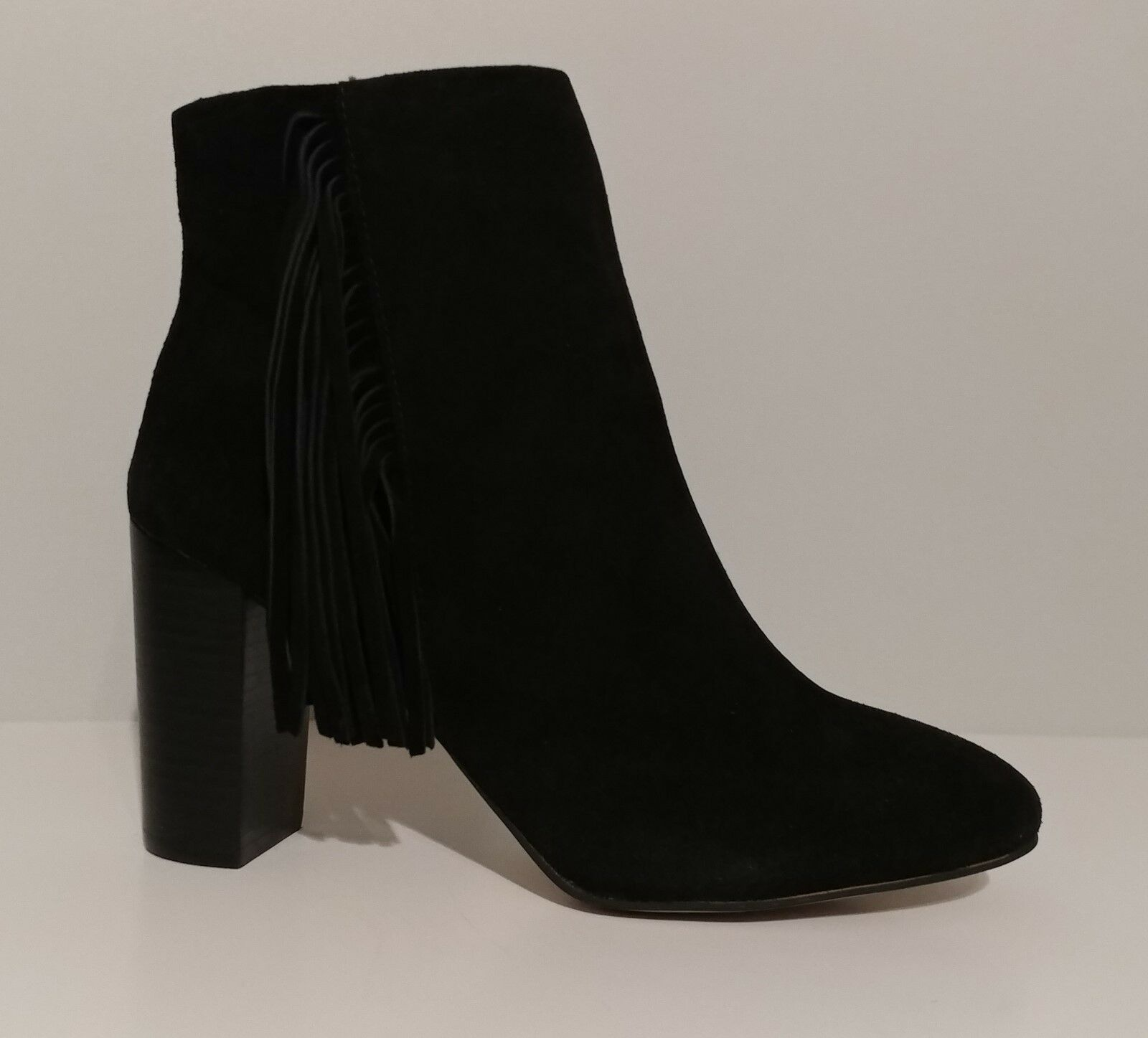 Jessica Simpson Womens Ebyy Blk/Suede/Stacked Heel M Jessica Simpson 7TT69E5DBS