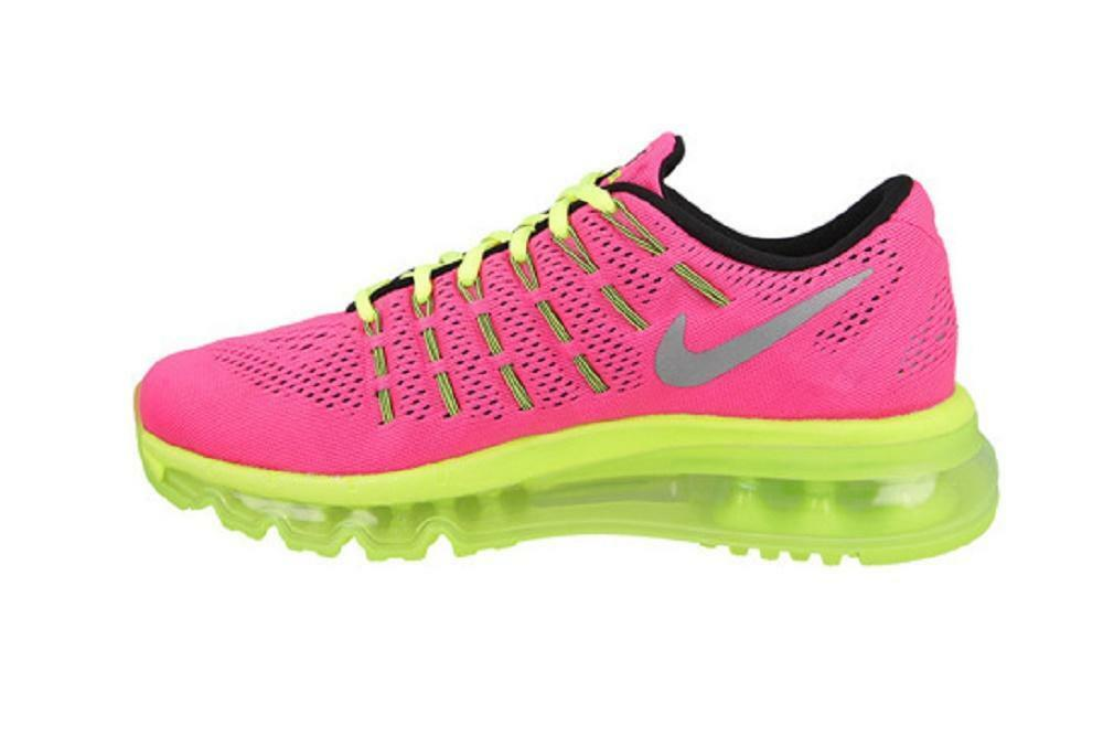 hot sale online 04652 f2b13 ... australia nike air max 2016 gs youth running run sneakers hyper pink  volt 6 ebay 57cb7 ...