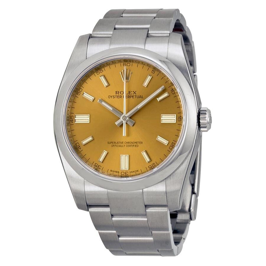 Rolex Oyster Perpetual Mens Watch