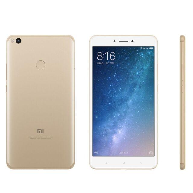 Xiaomi Mi Max 2 Dual SIM LTE 6.44 inch 4GB Ram 64GB Gold Ship from EU Nouveau
