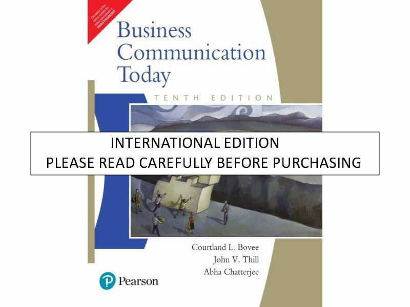 Business communication today by courtland l bove and john v thill resntentobalflowflowcomponentncel fandeluxe Gallery