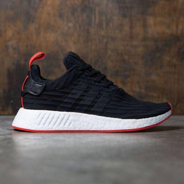nmd adidas r2 pk red black